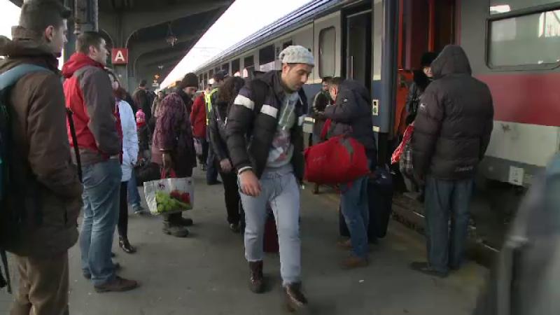 aglomeratie trenuri