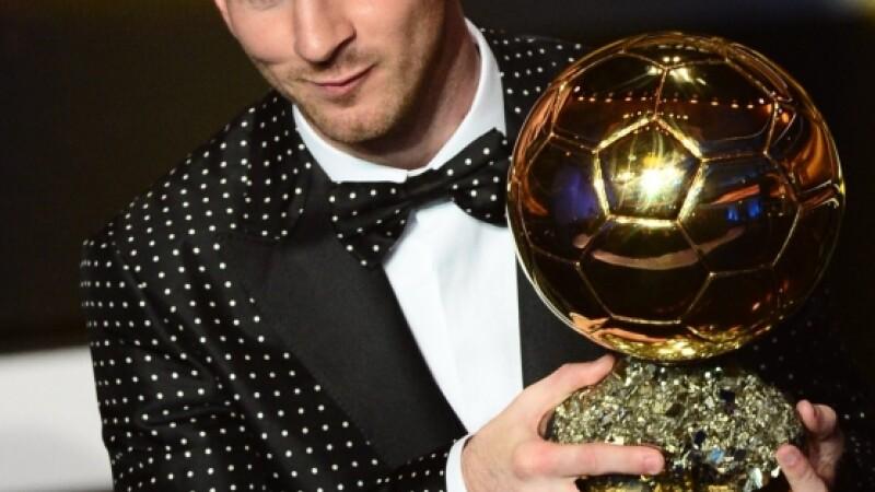 Messi Balonul de Aur