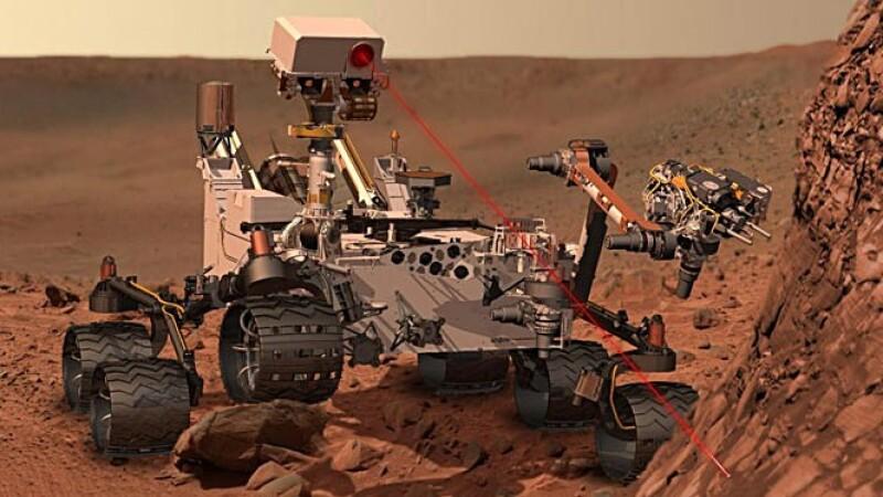 Decoperirea facuta de Curiosity pe Marte.