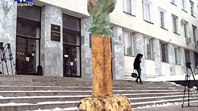 Protest la Chisinau