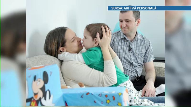 Un copil roman de 3 ani cu paralizie cerebrala va fi tratat experimental in SUA cu celule stem