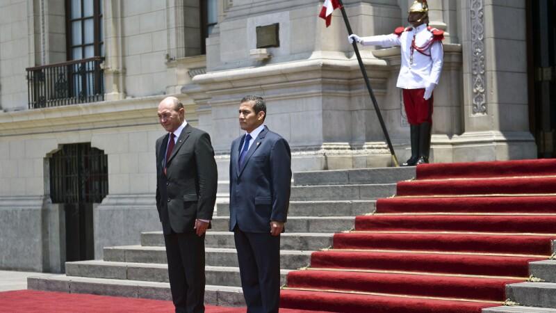 Ollanta Humala, Traian Basescu