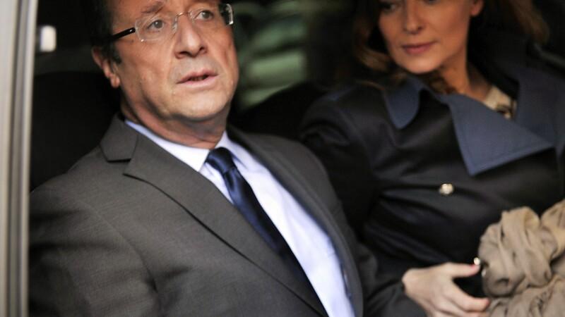 Valérie Trierweiler Francois Hollande