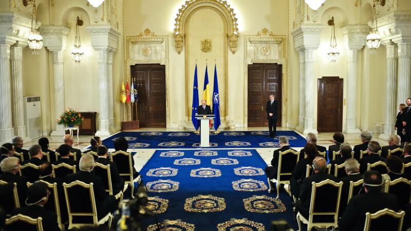 Presedintele Traian Basescu participa la intalnirea anuala cu sefii Misiunilor Diplomatice din Romania