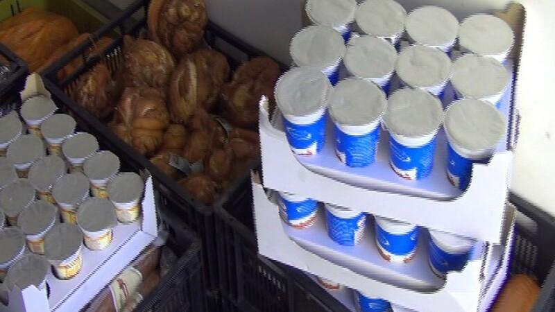 Politistii clujeni au confiscat produse lactate si din carne in valoare de 15.000 lei
