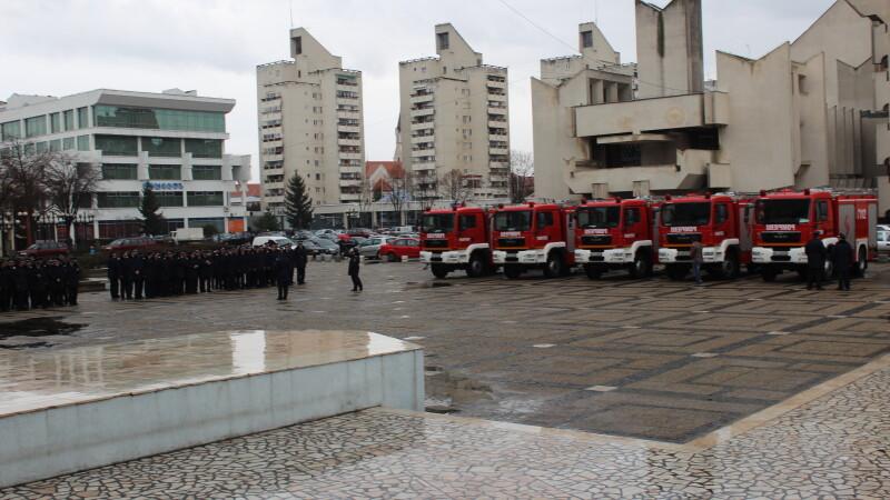 ISU Satu Mare a primit o autospeciala de 200.000 de euro