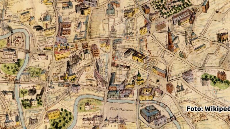 planul Capitalei maior Pappasoglu 1871