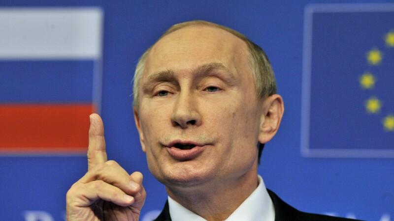 Vladimir Putin, la summit-ul Rusia - UE