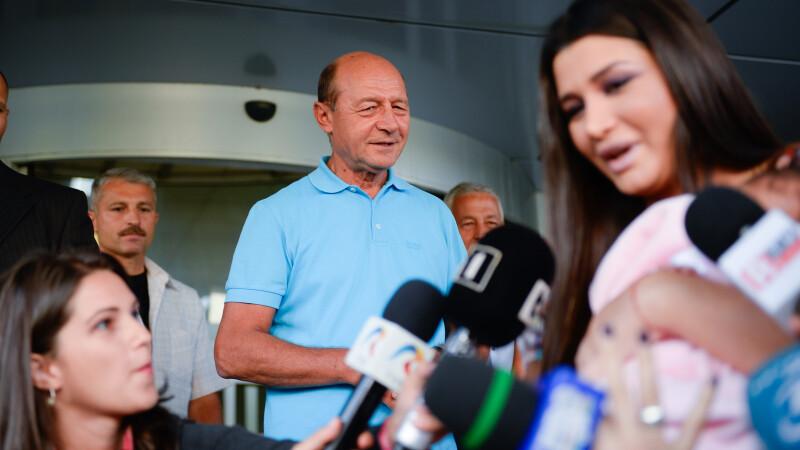 Elena Basescu, Traian Basescu