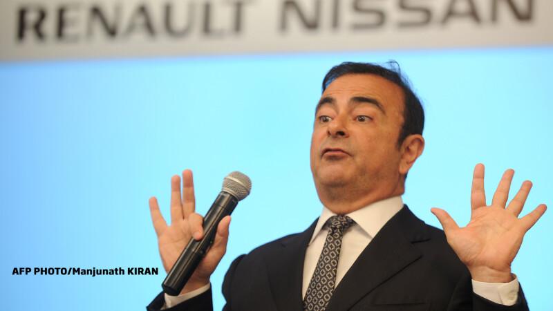 Carlos Ghosn director Renault Nissan