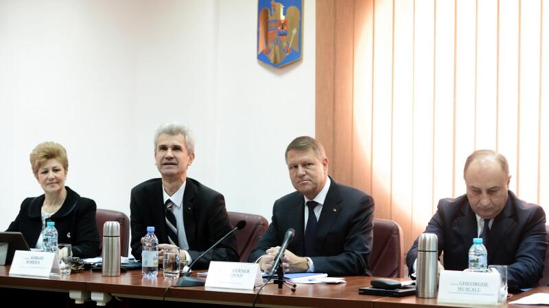 Klaus Iohannis la CSM