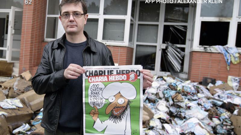 CHARLIE HEBDO, revista care a scandalizat adeptii tuturor religiilor. Atac cu bomba, procese, amenintare cu decapitarea