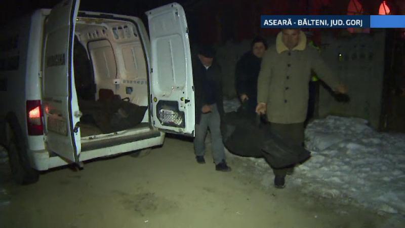 Doi batrani din Gorj, gasiti morti, in casa. Criminalistii cred ca s-au intoxicat cu monoxid de carbon de la soba