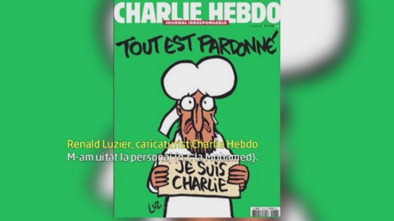 Un caricaturist de la Charlie Hebdo, despre coperta ultimului numar: