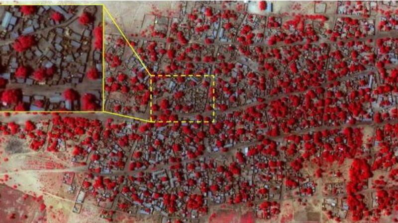 Urmarile devastatoare ale atacului Boko Haram in Nigeria, surprinse din satelit. O femeie a fost ucisa in timp ce nastea