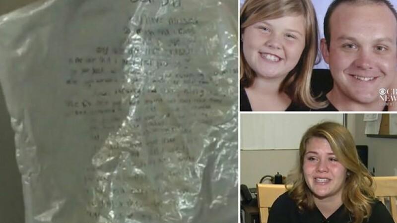 I-a scris tatalui ei decedat o scrisoare si a