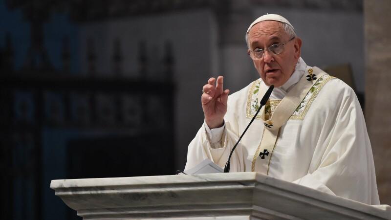 Declaratie controversata a Papei Francisc: Daca un prieten spune lucruri rele despre mama mea, ii pot da un pumn