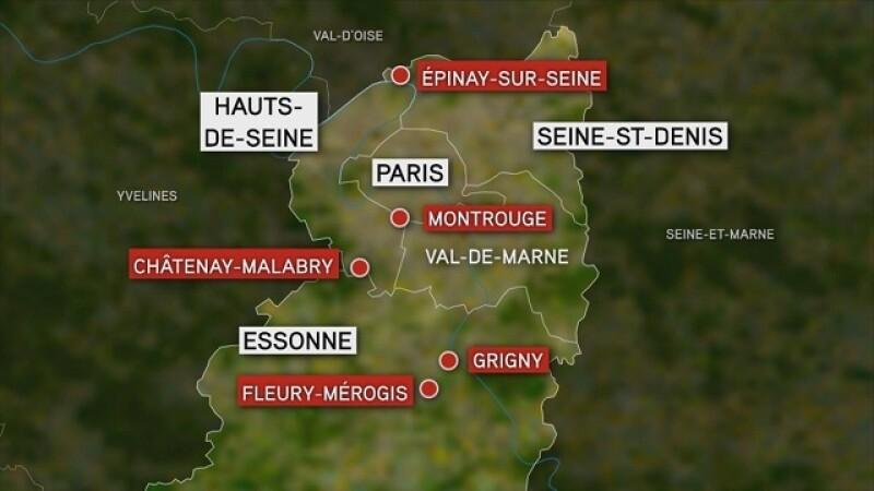 Atentatele din Franta: 12 persoane arestate in Paris pentru ca ar fi ajutat teroristii