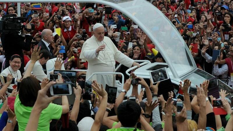 Papa Francisc, discurs in fata a milioane de catolici, in Filipine.