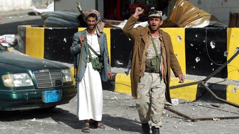 Rebelii siiti din Yemen au capturat palatul prezidential si planuiesc o lovitura de stat. VIDEO