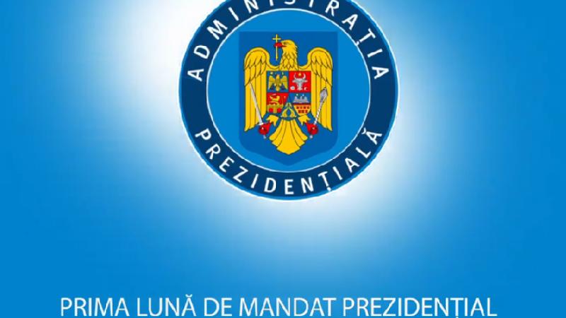 Klaus Iohannis si-a facut bilantul la o luna de mandat: