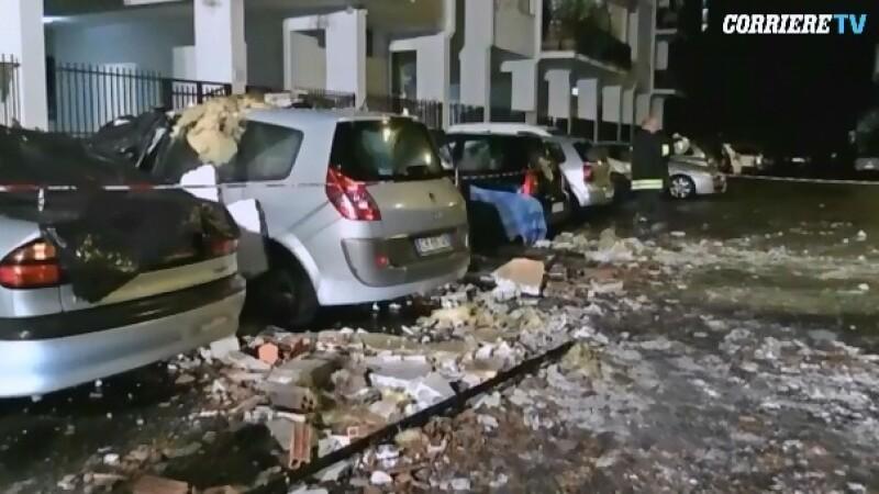 Romani raniti intr-o explozie la Roma. O italianca ar fi provocat intentionat deflagratia pentru a evita o executare silita
