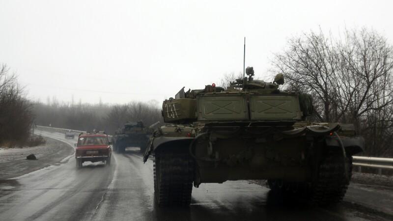 Presedintele Ucrainei a convocat de urgenta o reuniune a Statului Major militar. Se cere o riposta la
