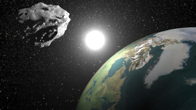 asteroid in apropierea Pamantului