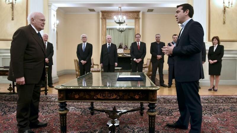 Alexis Tsipras este noul premier al Greciei: