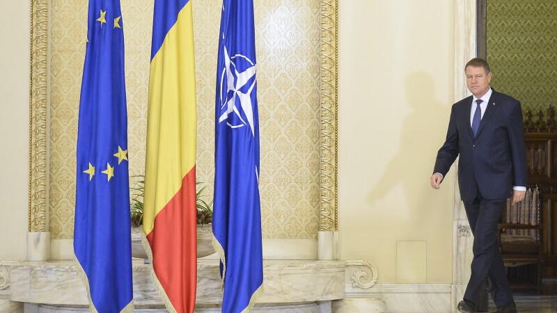 Klaus Iohannis acuza Rusia pentru atacurile