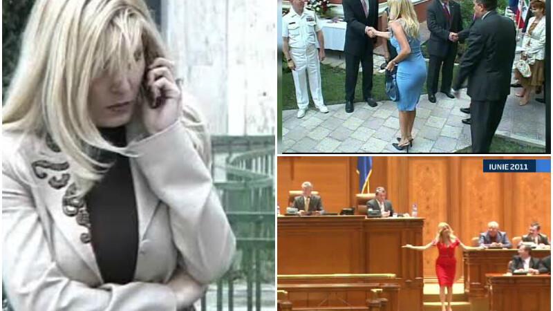 Politica pe tocuri a Elenei Udrea: de la primarie la Cotroceni si inainte spre notorietate. Momente care i-au marcat imaginea