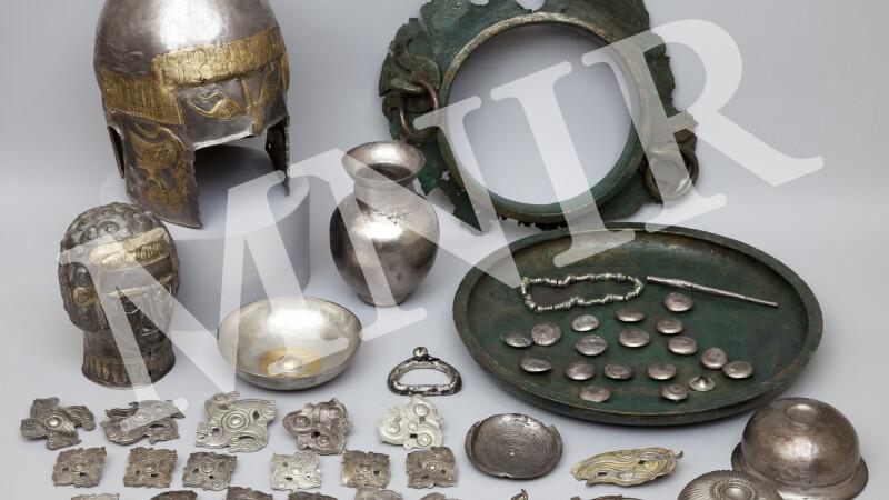 """""""Aurul si argintul antic al Romaniei"""" intr-o expozitie de exceptie la Muzeul de Arta Cluj-Napoca"""