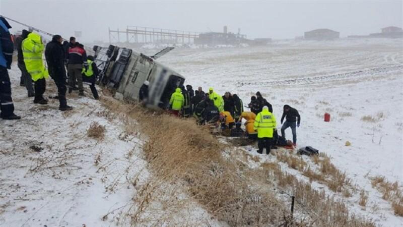 Accident autocar Turcia