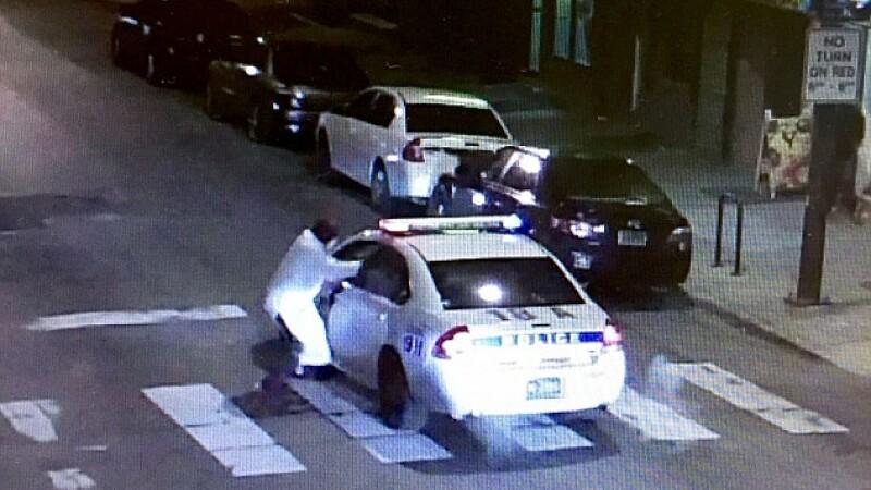 politist impuscat