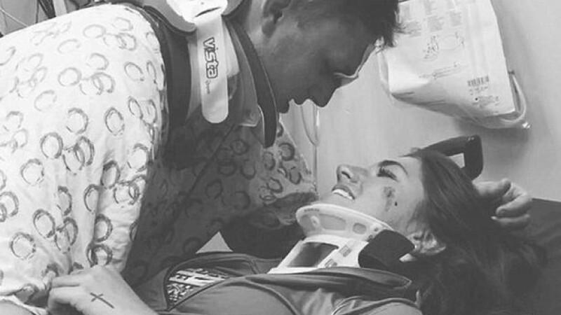 Arika Stovall si Hunter Hanks