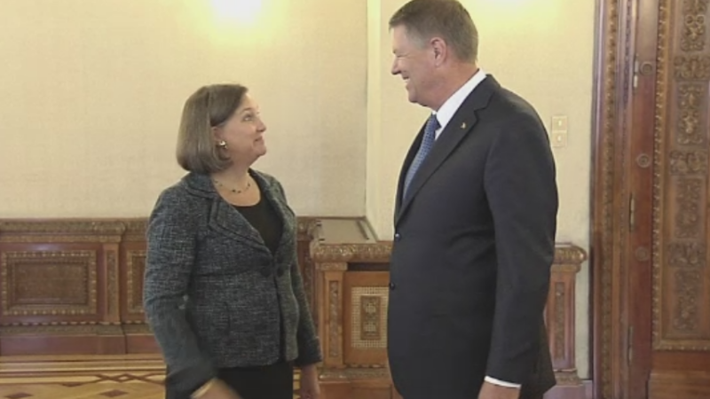 victoria nuland si iohannis