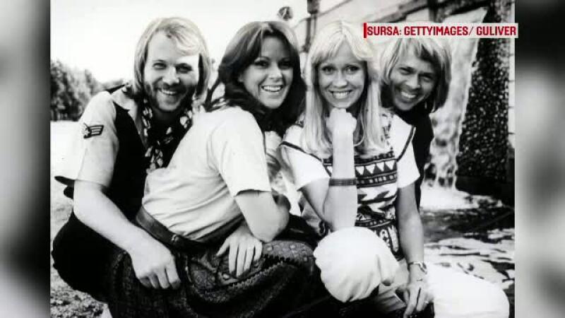 Membrii legendarei trupe ABBA s-au reunit la un restaurant din Stockholm. Ce au spus despre o refacere a formatiei