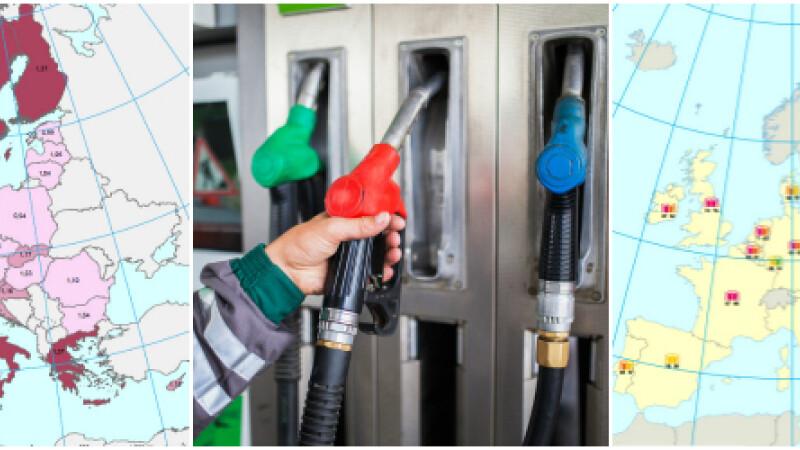Pret benzina europa - cover