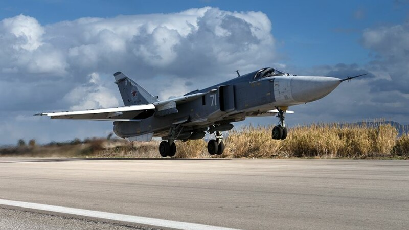 avion rusesc in Siria
