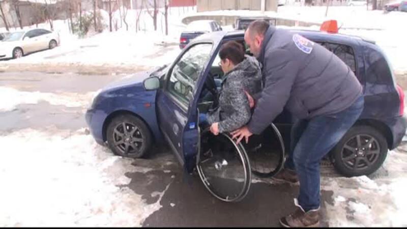 scoala de soferi persoane cu dizabilitati Galati