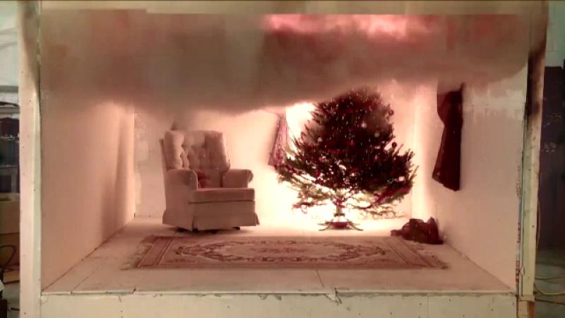 Tragedie de Revelion: o mama si fiul ei au ars dupa ce bradul a luat foc de la artificii. Greseala fatala comisa de femeie