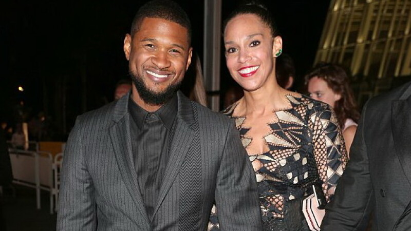Usher si-a pozat sotia in momentele intime si a pus-o pe internet. Imaginea care a aprins fanii. FOTO