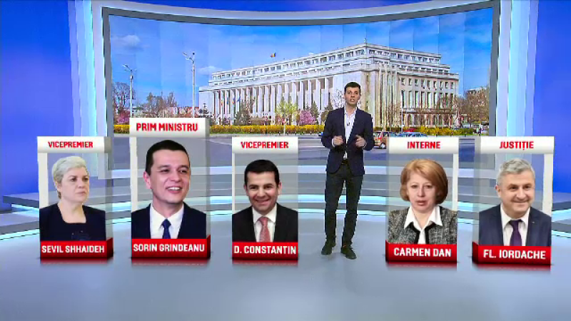 Liviu Dragnea a anuntat propunerile PSD-ALDE pentru Guvernul cu 26 de portofolii. Lista ministrilor lui Sorin Grindeanu