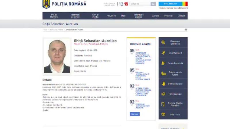 Sebastian Ghita a devenit oficial cel mai cautat roman. Pe numele sau a fost emis un mandat de arestare preventiva