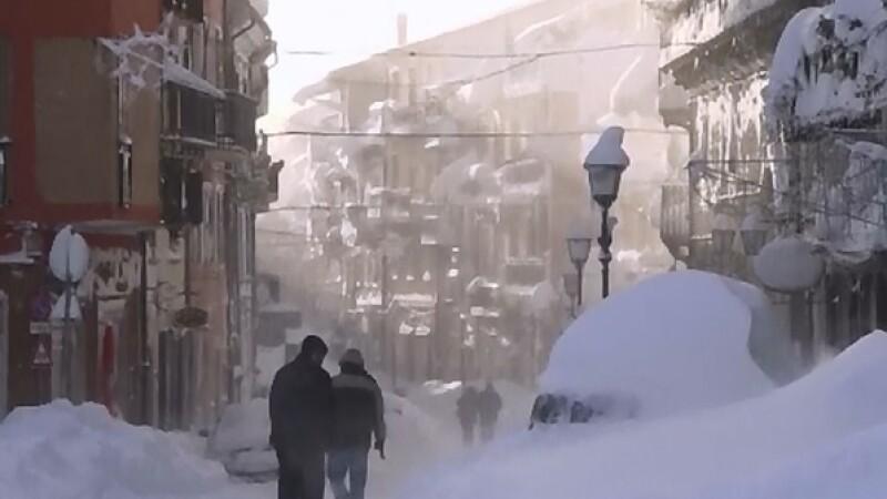 Valul de frig polar abatut asupra intregii Europe a curmat pana acum 20 de vieti. Printre victime se afla si un roman