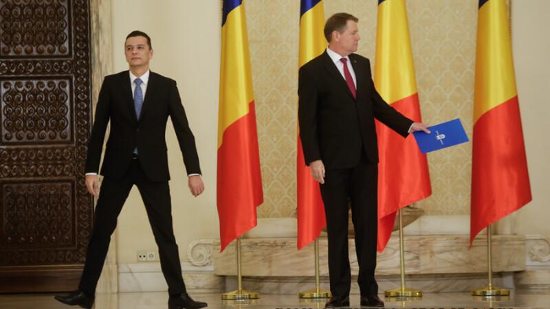 Presedintele l-a chemat pe premier la Cotroceni pentru a cere explicatii despre noul buget.