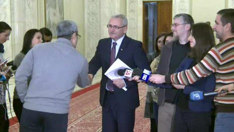 Scandal in Parlament. Dragnea a fost criticat de Turcescu pentru ca a lipsit de la sedinta plenului:
