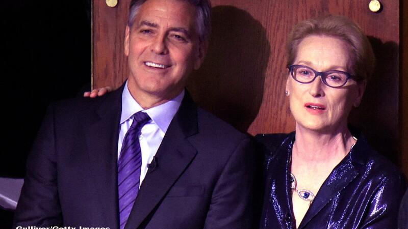 Donald Trump, in razboi cu Hollywood-ul. George Clooney il ataca pe presedinte, in apararea lui Meryl Streep