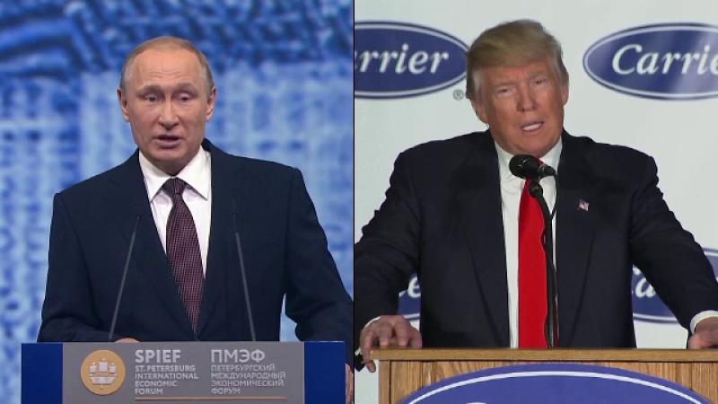 Oficial al Kremlinului: Se pregateste o intalnire intre Vladimir Putin si Donald Trump