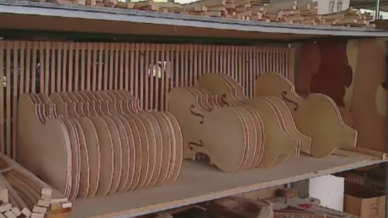 4.000 de viori s-au facut scrum intr-un incendiu care a cuprins o fabrica de instrumente. Pagubele se ridica la 1 mil. lei
